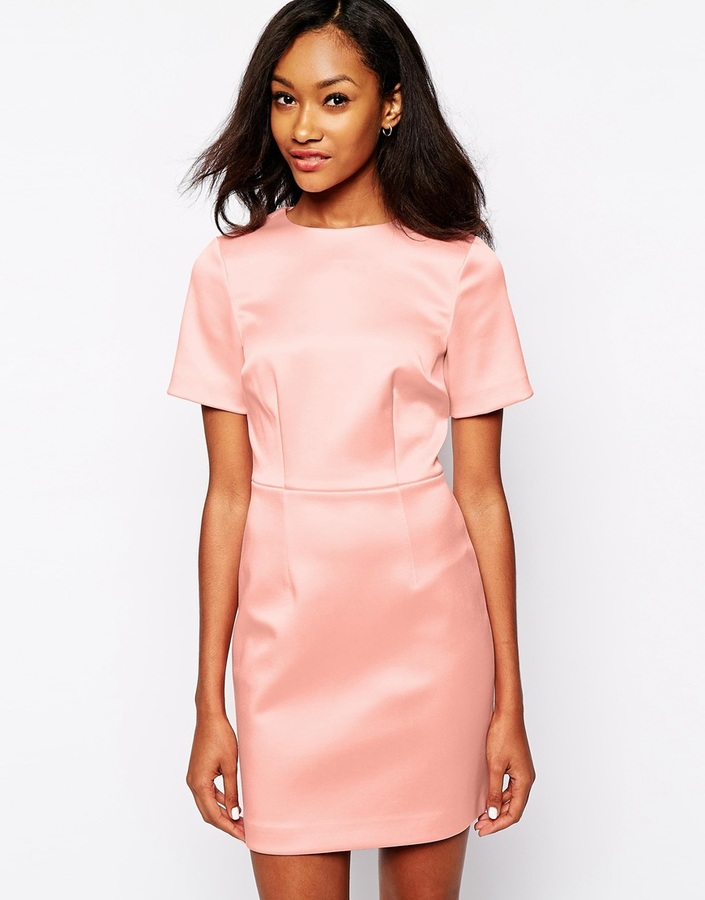 Warehouse Structured Shift Dress   Where to buy & how to wear