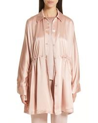 Pink Shirt Jacket