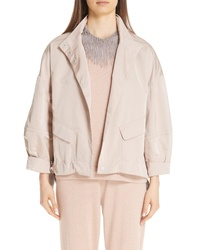 Fabiana Filippi Duchess Satin Jacket