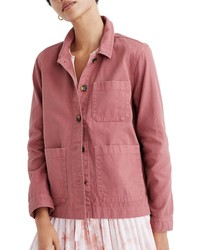 Madewell Gart Dyed Ashwood Chore Coat