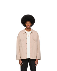 Lemaire Pink Jersey Jacket