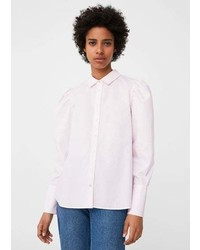 Mango Puffed Sleeves Shirt