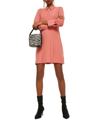 Topshop Pleated Shirtdress