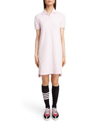 Thom Browne Stripe Pique Polo Dress