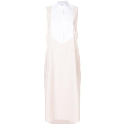 42c8f2539406d ... MM6 MAISON MARGIELA Two Tone Shirt Dress ...