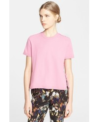 Valentino Lace Back Short Sleeve Tee