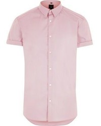 Pink short sleeve shirt original 369036