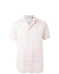 Amarillo unstructured collar short sleeve shirt medium 7140823