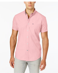 Tommy Hilfiger Maxwell Short Sleeve Button Down Shirt
