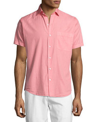 Peter Millar Seaside Washed Short Sleeve Shirt
