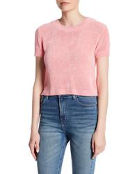 Cotton Emporium Hi Lo Short Sleeve Sweater
