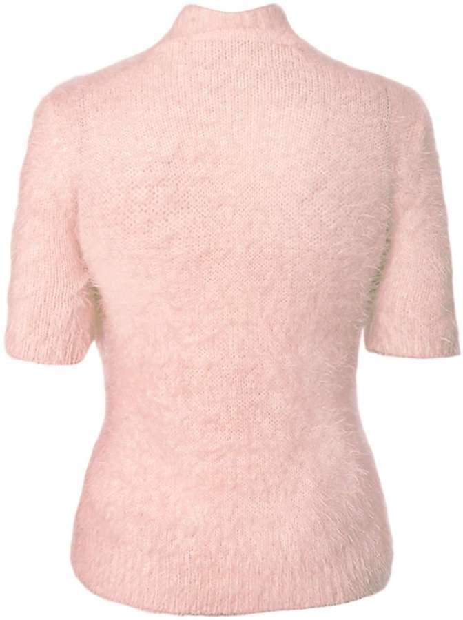 Quiz Pink Fluffy Short Jumper | Where to buy & how to wear