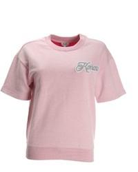 Kenzo Pink Short Sleeves Jumper