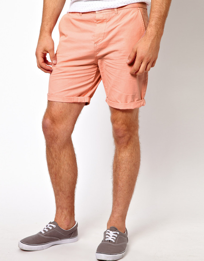 Asos Brand Chino Shorts In Mid Length | Where to buy & how to wear