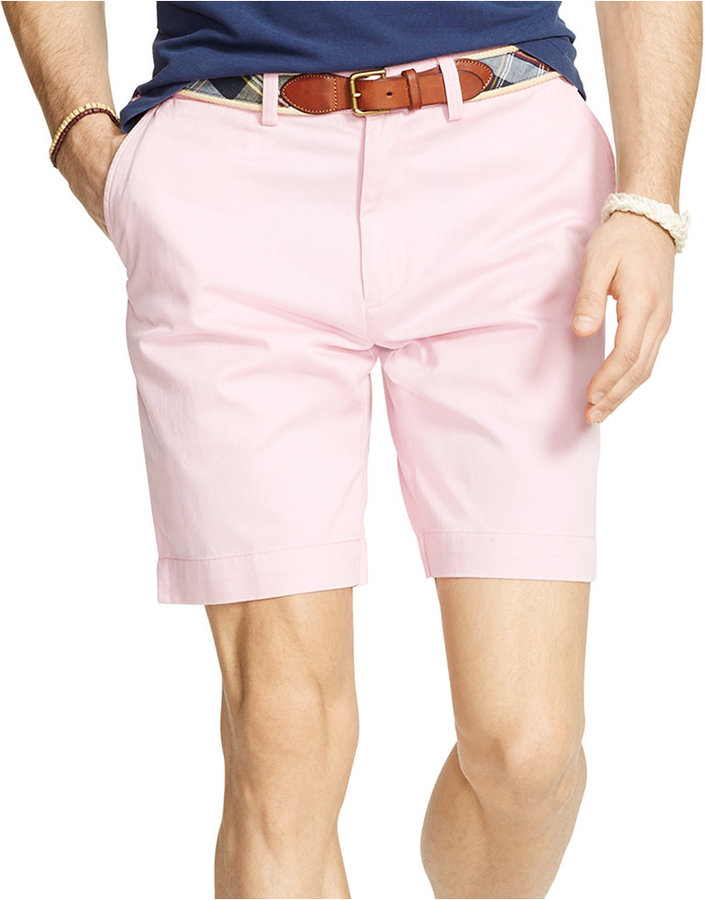 63702c14c191 ... Polo Ralph Lauren Classic Fit Flat Front Chino Short ...