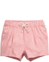 H&M Cotton Shorts Pink Kids