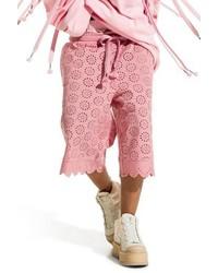 Puma Fenty By Rihanna Long Eyelet Shorts