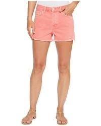 J Brand Gracie High Rise Shorts W Raw Hem In Glowing Blossom Shorts