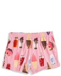 Flowers by Zoe Ice Cream Print Shorts