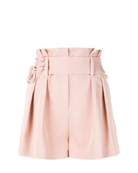 IRO Lace Up High Waist Shorts