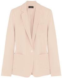 Pink Silk Blazer