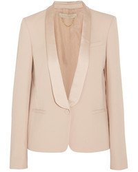 Arnold crepe and satin tuxedo blazer medium 7499