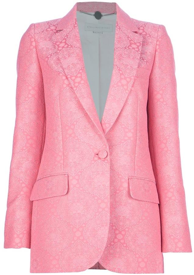 Stella McCartney Brocade Blazer