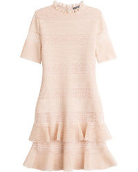 Alexander McQueen Bandage Dress With Silk