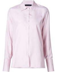 The Row Pearl Button Blouse