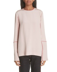Stella McCartney Contrast Stitch Silk Blouse