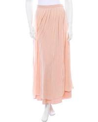 Silk maxi skirt medium 96008