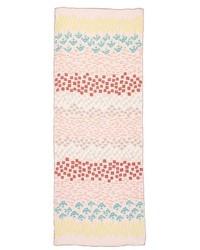 Flower rows silk scarf medium 5309202