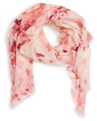 Graceful hanami cashmere silk scarf medium 1162109