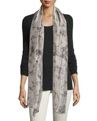 Eileen Fisher Rose Petal Silk Scarf