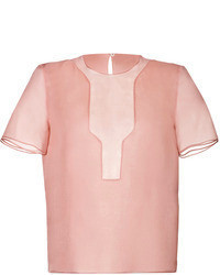 Fendi Silk Organza Top