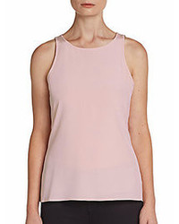 Silk crepe de chine tank top medium 111371