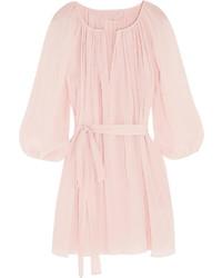 Pink Silk Tunic