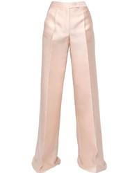 Antonio Berardi Scuba Silk Wide Leg Pants
