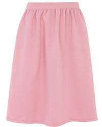 Alice & You Pink Texture Midi Skater Skirt