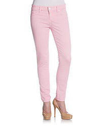 David Kahn Nikki Colored Denim Skinny Jeans