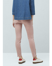 Mango Outlet Crop Skinny Trousers