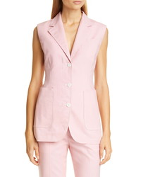 Sies Marjan Victoria Stretch Cotton Canvas Vest