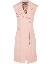 Pink Sleeveless Coat