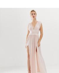 ASOS DESIGN Premium Pleated Maxi Dress