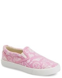 Bucketfeet Sailor Tails Print Slip On Sneaker