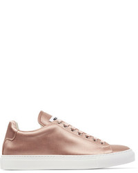 Jil Sander Satin Sneakers Antique Rose