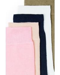 Topman 5 Pack Crew Socks