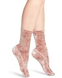 Crushed velvet socks medium 5260031