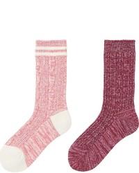Uniqlo Heattech Socks 2p