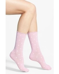 Hue jeans socks pink sugar 911 medium 48470